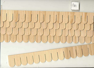 SHINGLE STRIPS FISHSCALE 7405  1/12 Scale Dollhouse Roofing Wood Houseworks 12pc • 12.99$