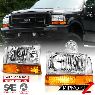 $76.29 • Buy For 99-04 Ford SuperDuty SD / Excursion Replacement Headlight Bumper Corner Lamp