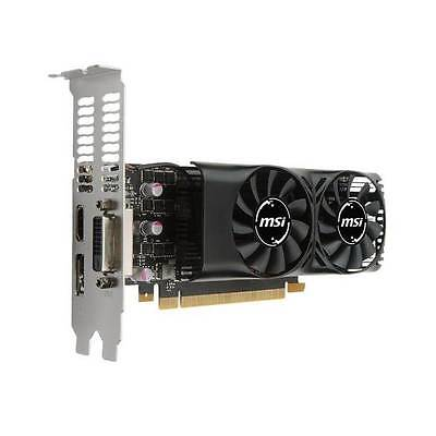$ CDN243.01 • Buy MSI NVIDIA GeForce GTX 1050 TI 4GB GDDR5 DVI/HDMI/DisplayPort Low Profile Pci-e