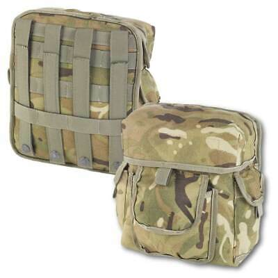 £21.95 • Buy British Army Molle Commanders Admin Pouch MTP Military Utility Webbing Pouch