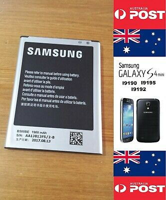 AU12 • Buy Replacement Battery Samsung Galaxy S4 Mini I9190 4pin Good Quality Local Seller