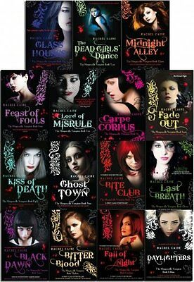 £295.74 • Buy Rachel Caine The Morganville Vampires 15 Books Collection Set Fall Of Night New