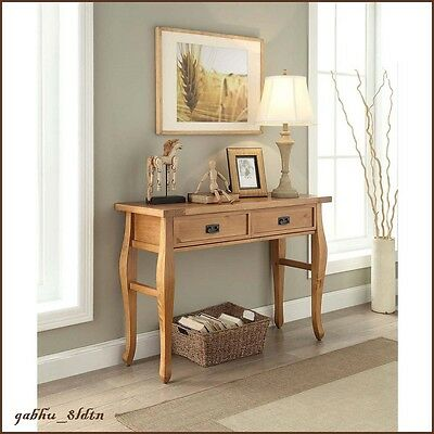 $172.72 • Buy Southwest Furniture Console Table Distressed Rustic Living Room Country Cabin