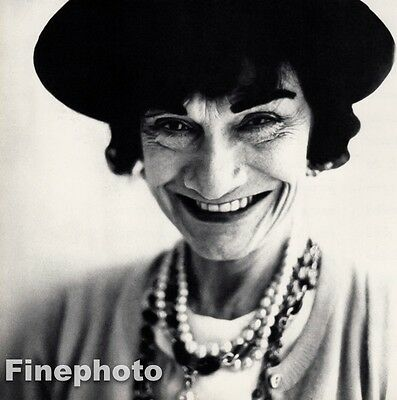$201.35 • Buy 1958 Vintage  GABRIELLE CHANEL COCO France Fashion Designer RICHARD AVEDON 11x14