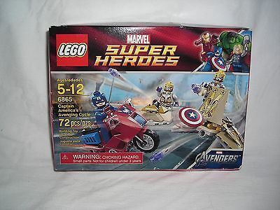 LEGO 6865 Captain America's Avenging Cycle • 31.32£