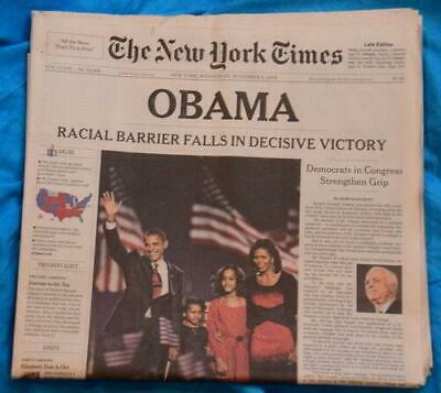$18.75 • Buy New York Times - Obama Election