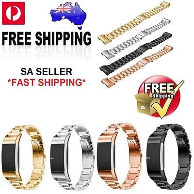 AU4.45 • Buy Replacement Metal Bracelet Strap For Fitbit Charge 2 Band Or Screen Film