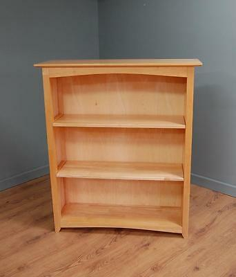 Smashing! Light Beech Bookcase With Three Shelves • 95£