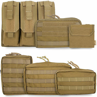£10.80 • Buy Bulldog Tactical Military Army Cadet Airsoft Modular MOLLE Pouch Holder Coyote