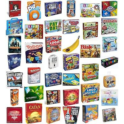Board Games / Family / Children / Adults / Party - Lots To Choose - New & Sealed • 19.97£