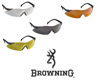 Browning Glasses Claybuster Shooting Glasses - All Colours & Styles • 18.30£