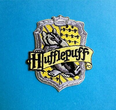 $ CDN8 • Buy Harry Potter Hufflepuff House Scarf Hat Jacket Hoodie Backpack Patch Crest