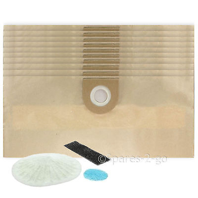 10 X Dust Bags & Filter Kit For VAX 6131T 6151F 6151T Vacuum Cleaner Hoover • 13.89£