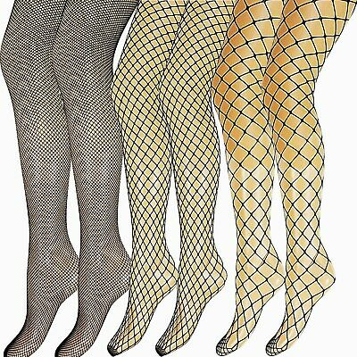New Womens Ladies Whale Fence Diamond Fishnet Tights Pantyhose Party Size • 4.50£
