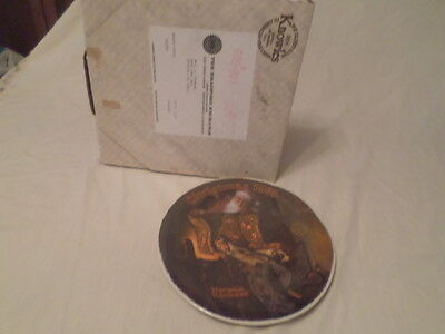 $ CDN20.14 • Buy Norman Rockwell  Christmas Dream  Collector Plate 1978