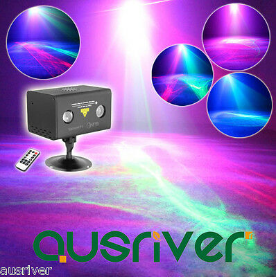 AU82.79 • Buy SUNY Water Ripple Pattern Laser Stage Lights LED RGB Lighting Party DJ Disco KTV