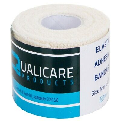 EAB BANDAGE DRESSING 5cm X 4.5M Medical Sports Sprain Support Strapping Tape • 7.21£