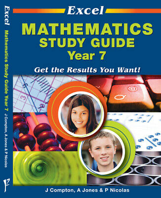 AU34.95 • Buy Excel Study Guide: Mathematics Year 7