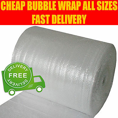 £8.89 • Buy SMALL & LARGE BUBBLE WRAP - 300mm 500mm 600mm 750mm 900mm 1000mm X 10m 50m 100m