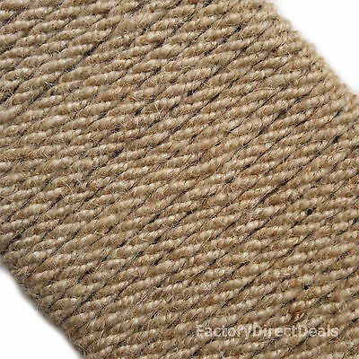 6mm X 5m Natural Fibre Jute Hessian Rope Twisted Cord Garden Hobby Art Craft DIY • 4.98£