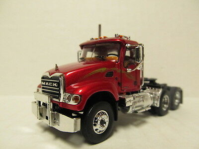 $47 • Buy 1st Gear 1/64 Scale Mack Granite  Day Cab  Metallic Red  (same Scale As Dcp)