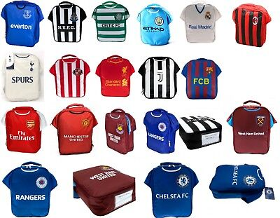 Football Shirt Lunch Bag Kit - Boys Club Childs School Sports Box Utd Spurs • 11.76£