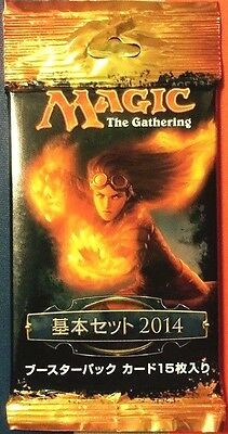 $7.95 • Buy * Magic 2014 (M14) - JAPANESE - Booster Pack X 1 * Brand New - From Sealed Box