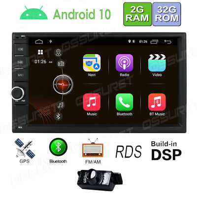 AU289 • Buy Android 9.0 WiFi GPS HD 7  Double Din Car Stereo MP5 Player Radio Reverse Camera