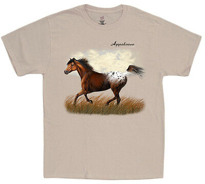 Appaloosa Shirt For Men Horse Breed Decal Design Tee Equestrian Gift Clothing • 10.73£