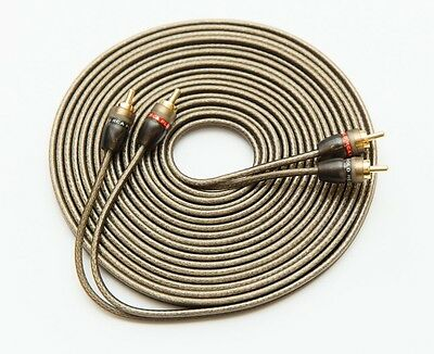 £6.99 • Buy 5m Rca Cable Shielded Wire Pure Ofc 5 Metres 16.5 Feet Phono Leads