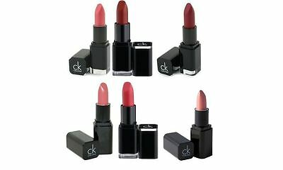 £2.99 • Buy CK Calvin Klein Lipsticks Sinful Venus Desire Eros Heat Wave Etheral