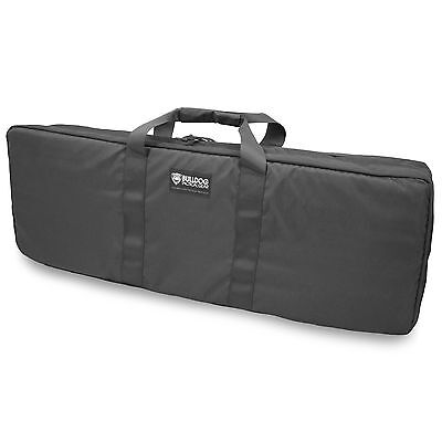 £64.20 • Buy Bulldog MOLLE Military Airsoft Tactical Double Rifle Case Bag Pack Black 92cm