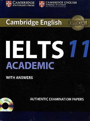Cambridge English IELTS 11 ACADEMIC With Answers & Audio CD @NEW@ 2016 • 22.44£