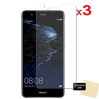 3 Pack CLEAR LCD Screen Protector Cover Guards For Huawei P10 Lite • 1.79£