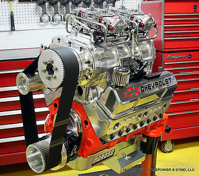 427ci Small Block Chevy Blown Pro-Street Engine 825hp+ Built-To-Order Dyno Tuned • 17,775$