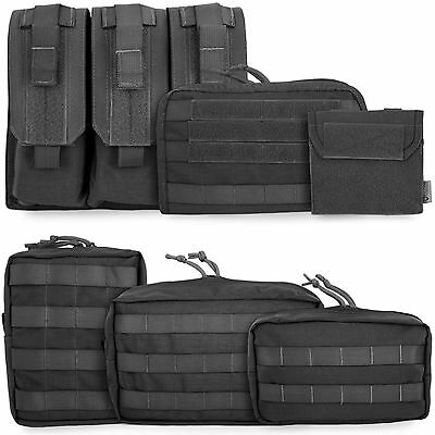 £23.80 • Buy Bulldog Tactical Military Army Police Airsoft Modular MOLLE Pouches Pouch Black