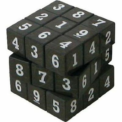 Sudoku Cube Puzzle Cube Game Sudokube Maths Educational Toy • 8.01£