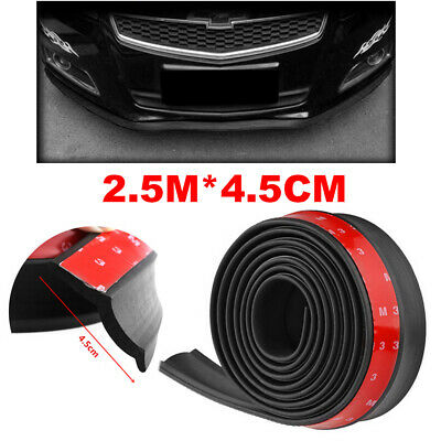 $11.99 • Buy 2.5M Universal Car Front Bumper Lip Splitter Body Spoiler Chin Skirt Protector