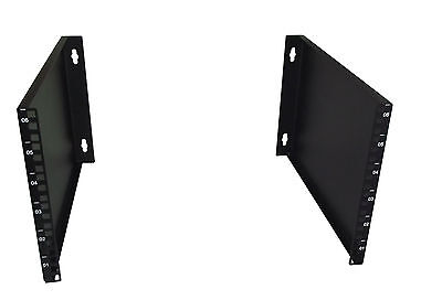 £25 • Buy 6U 400mm Deep 19  Rack Wall Mounted Bracket - Economic Cabinet Alternative!