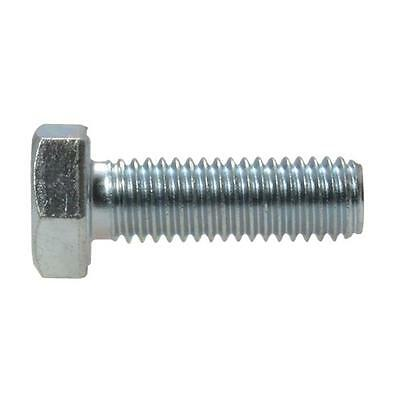 AU3.90 • Buy Hex Set Screw M8 (8mm) Metric Coarse Bolt High Tensile Class 8.8 Zinc Plated
