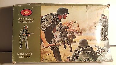 $60 • Buy SOLPA (Greek) German Infantry 25 Mint Figures Rough  1980s Box   1:32 Scale