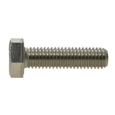 AU4.50 • Buy Hex Set Screw M6 (6mm) Metric Coarse Bolt Marine Stainless Steel G316