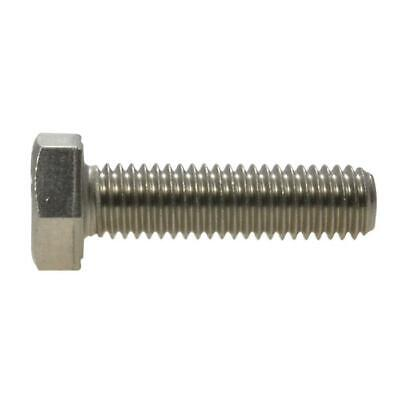 AU4.50 • Buy Hex Set Screw M8 (8mm) Metric Coarse Bolt Marine Stainless Steel G316