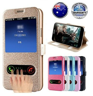 AU6.99 • Buy New Wallet Flip PU Leather Phone Case Cover For IPhone Samsung Note 3 4 5 6 7 8+
