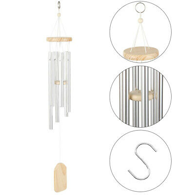Large Outdoor Living Yard Garden 10 Tubes Bells Copper Wind Chimes Home Decor • 7.99$