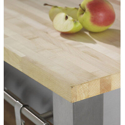 Solid Maple Wood Kitchen Worktops And Breakfast Bars, A1 Grade Timber Worktop • 59.99£