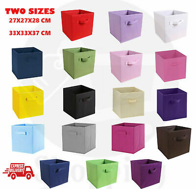 AU49.99 • Buy Foldable Folding Storage Cube Storage Box Bookcase Fabric Cube Toy Organiser