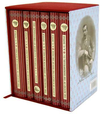 Sherlock Holmes 6 Books Box Set Collectors Library - New • 29.98£