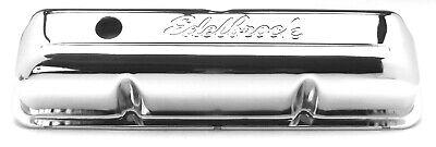 $87.93 • Buy Edelbrock 4462 Valve Covers  3.9  High Chrome 352 360 390 428 Ford FE