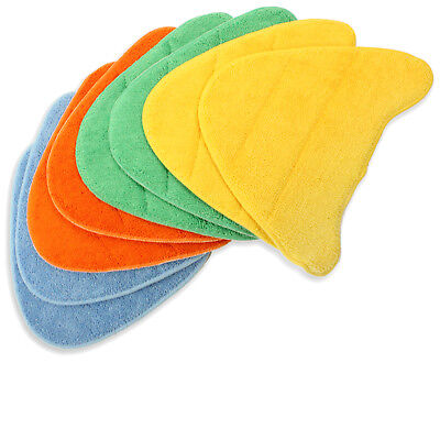 8 X Floor Covers Pads For VAX Total Home Bare Floor Pro Steam Cleaner Mop • 12.79£